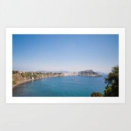 Pcida Island View Art Print