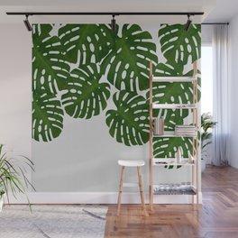 Monstera Leaf I Wall Mural
