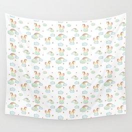 Unicorn pattern Wall Tapestry
