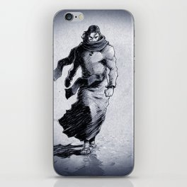 Walking on water means he conquered death! iPhone Skin