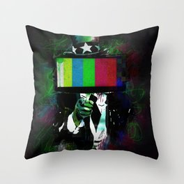 Uncle Brainwash Throw Pillow