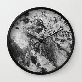 White: Paint Wall Clock