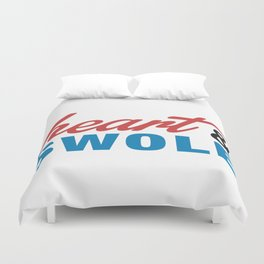Heart & Swole Duvet Cover