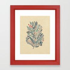 Turning Over A New Leaf Framed Art Print