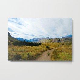 Patagonia path Metal Print