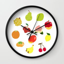 Fruits Fruits Fruits! Wall Clock