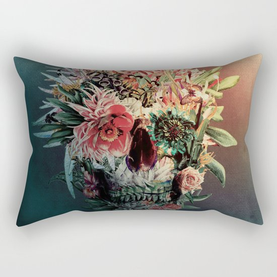 Skull Rev IV Rectangular Pillow