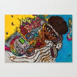 Mind, Body and Soul Canvas Print