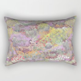 Life in Death Valley Rectangular Pillow