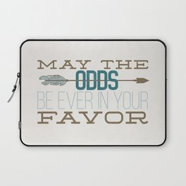 May the Odds Laptop Sleeve