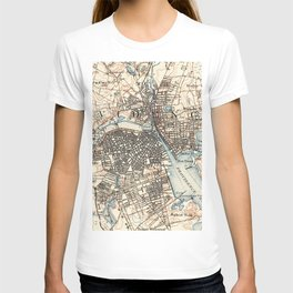 Vintage Map of Providence Rhode Island (1887) T-shirt