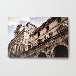 Viewing Gallery (Paris) Metal Print