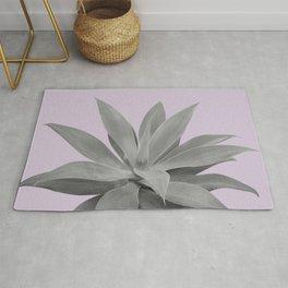 Lavender Gray Agave Vibes #1 #tropical #decor #art #society6 Rug