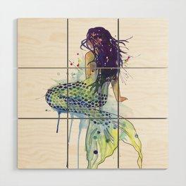 Mermaid Wood Wall Art
