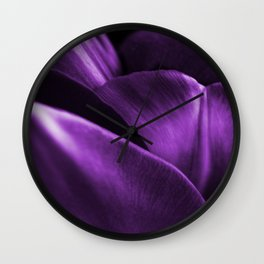 Ultraviolet Flower Petals #decor #society6 #homedecor Wall Clock