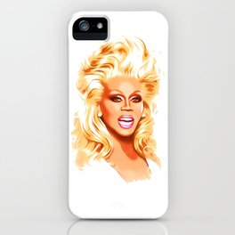RuPaul - Supermodel - Pop Art iPhone Case