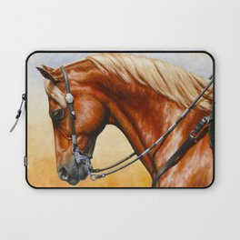 Western Sorrel Quarter Horse Laptop Sleeve