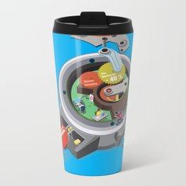 Time tunnel Travel Mug