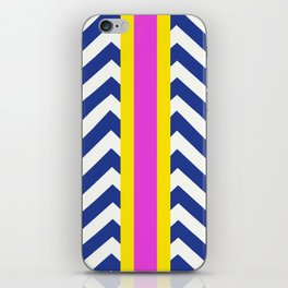 Raja Summer Chevron  iPhone Skin