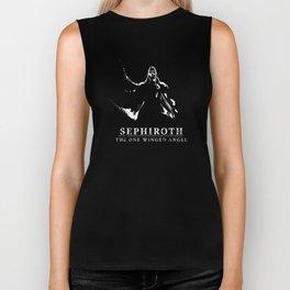Sephiroth - One Winged Angel Biker Tank