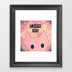 cat-230 Framed Art Print
