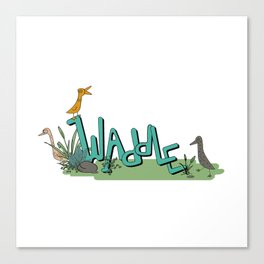 Waddle Canvas Print
