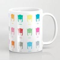 pantone Mugs featuring Pantone Knight by James Northcote