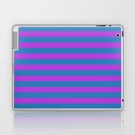 Blue and Purple Stripes Laptop & iPad Skin