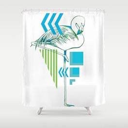 Flam Shower Curtain