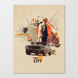 The City 1968 Canvas Print