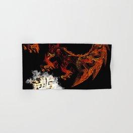 Dragon Fractal Hand & Bath Towel