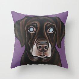 Portrait of Dixie  Throw Pillow