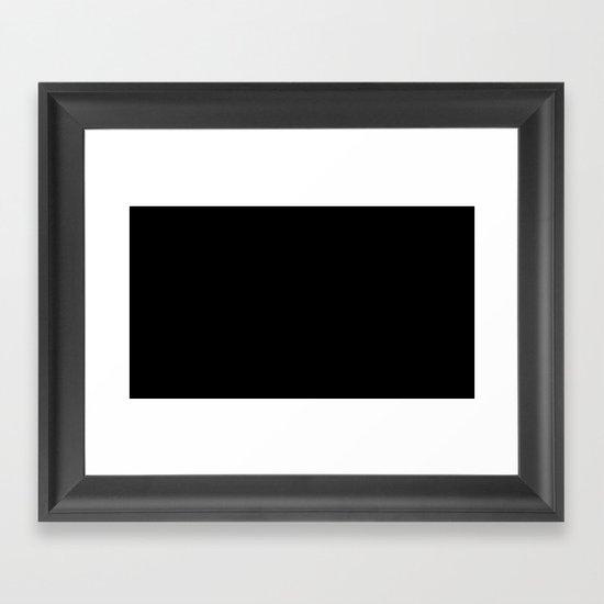 Splatter in D Minor Framed Art Print
