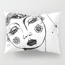 You Have No Clue What Is In My Head GRRL Pillow Sham
