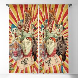 Life Is A Circus Blackout Curtain