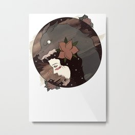 Native widow  Metal Print