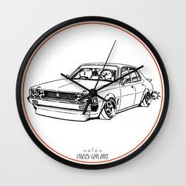 Crazy Car Art 0204 Wall Clock