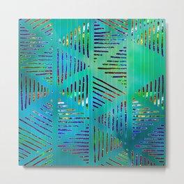 Geometric shapes 17 Metal Print