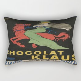 Vintage poster - Chocolat Klaus Rectangular Pillow