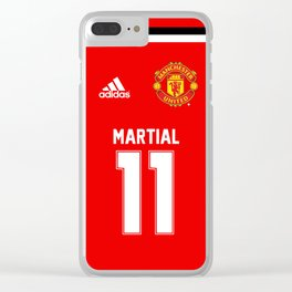 Martial Edition - Manchester United Home 2017/18 Clear iPhone Case