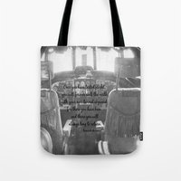 da vinci Tote Bags featuring Flight Skyward Da Vinci by KimberosePhotography