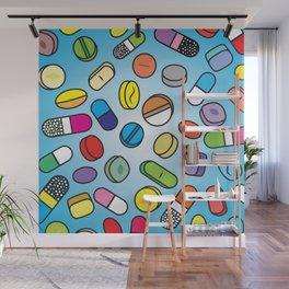 Drugs n Pills Wall Mural