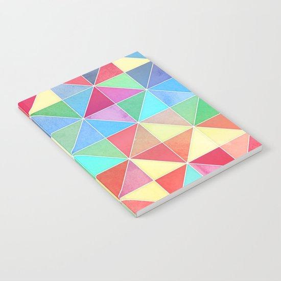 Rainbow Prisms Notebook
