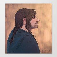 kili Canvas Prints featuring kili by Ronnie