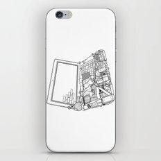 Laptop Surroundings iPhone & iPod Skin