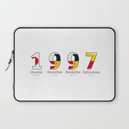 1997 - NAVY - My Year of Birth Laptop Sleeve