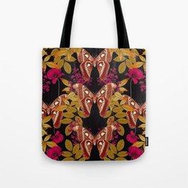 Moth Jungle Tote Bag