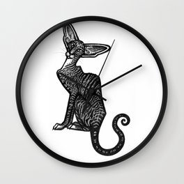 Oriental Shorthair Wall Clock