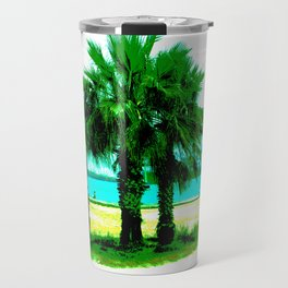Tropical Tree Trio Travel Mug
