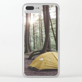 Camp Vibes II Clear iPhone Case